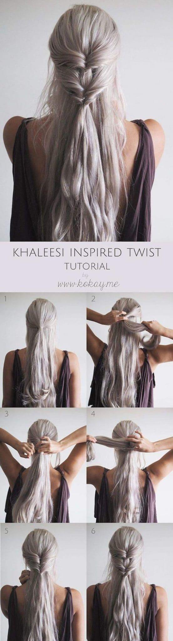 Khaleesi Inspired Twist