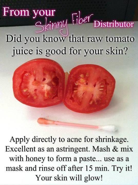 Raw tomato juice