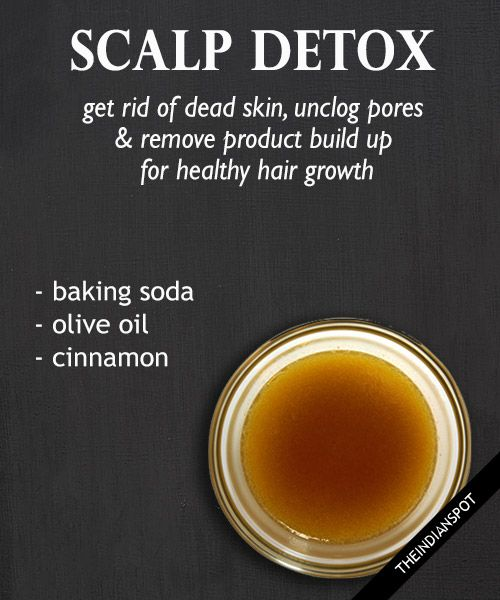 Scalp Detox for Healthy hair