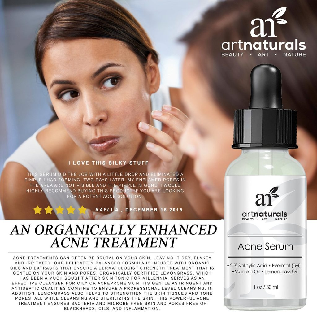 Art Naturals Anti Acne Serum Treatment