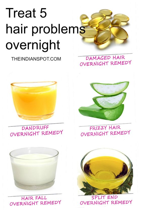Overnight Hair Remedies
